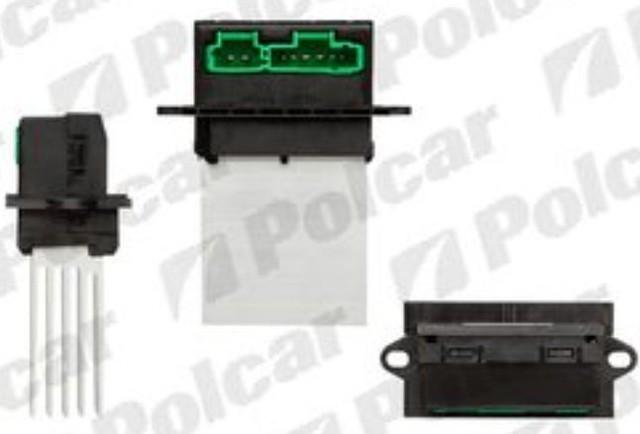 Резистор печки отопителя Renault (блок управления отопителем), 2315KST3X(6441L2 , 7701048390 , 7701207718)