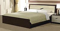"""Кровать 180 """"Доминика"""" Мастер Форм (двуспальная темная)"""