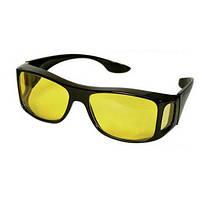 Водительские антибликовые очки HD H0244 Yellow оправа пластик