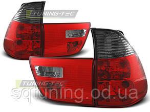 Задние фонари BMW X5 E53 09.99-06 RED SMOKE