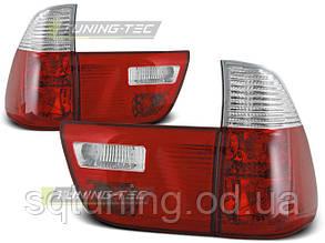 Задние фонари BMW X5 E53 09.99-06 RED WHITE