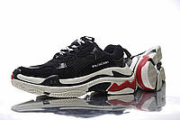Balenciaga Triple-S Black/White/Red