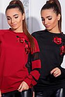 Женский стильный свитер бруклин