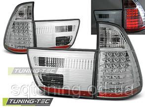 Задние фонари BMW X5 E53 09.99-10.03 CHROME LED