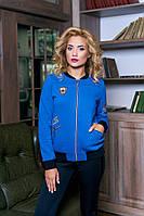 Толстовка теплая Ann Гранд синяя, фото 1