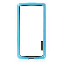 Чехол бампер TPU для LG G3s Dual D722 D724 голубой