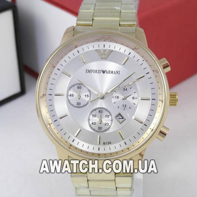1259afd9f965 Мужские кварцевые наручные часы Emporio Armani B134 (644544515 ...