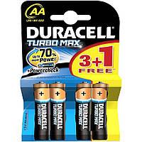 Батарейка AA Duracell LR06 MN1500 KPD Turbo Max блистер (4шт)