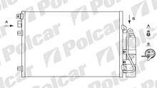 Радіатор кондиціонера 2800K81X(8200090213) LOGAN, 04-