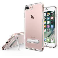 Накладка для iPhone 7 Plus силикон Spigen Crystal Hybrid Розовое золото (043CS20510)