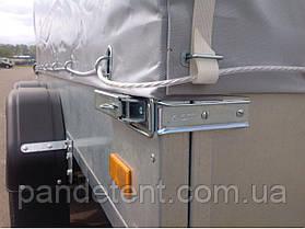 Тент на прицеп легкового авто из ПВХ ткани- Бельгия, фото 3