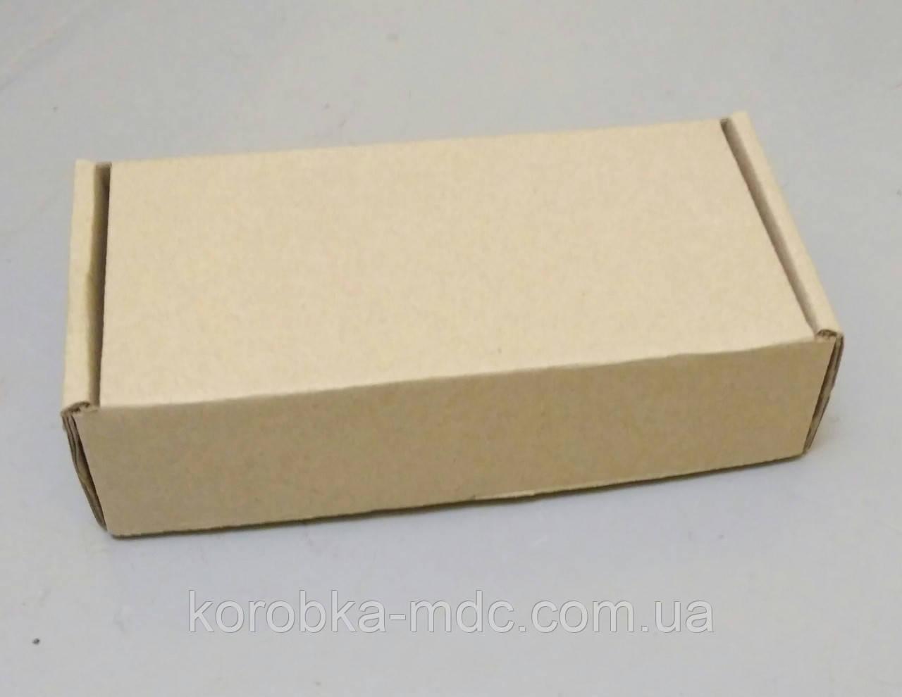 Коробка бурая 152х105х32 самосборная (шкатулка)