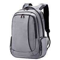 """Фирменный рюкзак для ноутбука 15,6"""" Тigernu T-B3143, тёмно-серый, фото 1"""