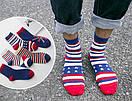 Набор мужских носков (5 пар) с флагами Британии и США , фото 6