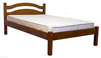 """Кровать односпальная из натурального дерева """"Ассоль"""" Voldi"""