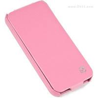 Чехол HOCO Duke flip case Hi-L012 для iPhone 5/5s и iPhone SE pink