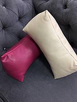 Подушка под голову - валик, слоновая кость, фото 1