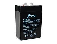 Батарея для ИБП 6В 4.5Ач Frime FB4.5-6 / 6V 4.5Ah / 70х47х107 мм