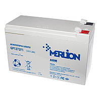 Батарея для ИБП 12В 7,2Ач Merlion / GP1272F1 / ШхДхВ 65х151х100 / White Q10