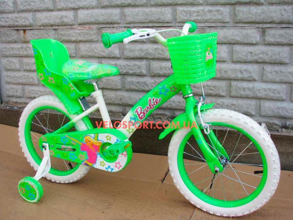 Детский велосипед Mustang Barbie 18 дюймов