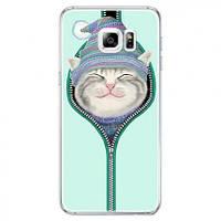 "Накладка для Samsung G930 Galaxy S7 силикон TPU ""Милые котята"""