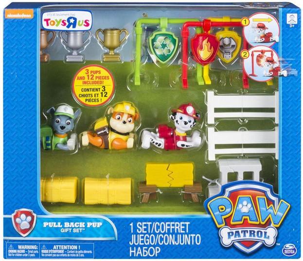 Набор Щенячий Патруль 3 собачки Nickelodeon Paw Patrol Оригинал из США