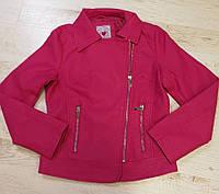 Кожаная куртка для девочек Glo-Story оптом, 134/140-170 рр., фото 1