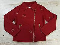 Кожаная куртка для девочек Glo-Story оптом, 92/98-128 рр., фото 1