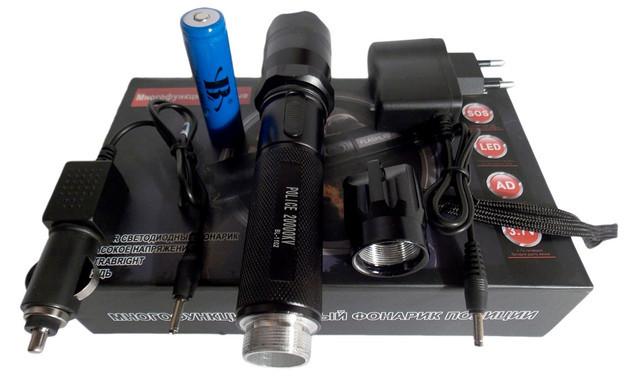 Цивільні Ліхтарики електрошокери - багатофункціональні пристрої
