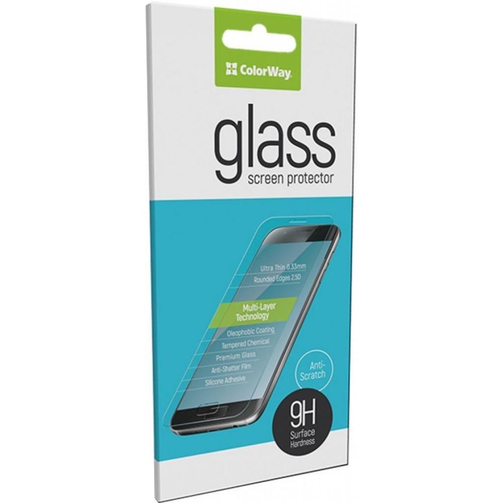 Защитное стекло для телефона ColorWay Apple iPhone 7 Plus 3D BLACK (CW-GSREAI7P3DB)