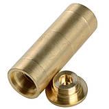 Лазерный патрон холодной пристрелки 12 калибр ЛАТУННЫЙ, фото 3