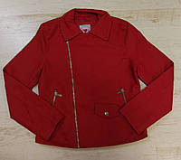 Шкіряна куртка для дівчаток Glo-Story оптом, 134/140-170 рр. Артикул: GPY5835, фото 1