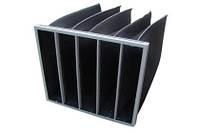 Угольные кассетные  панельные фильтры