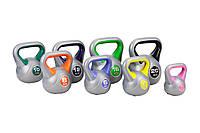 Набор виниловых гирь Hop-Sport 8 шт (общий вес 78 кг), фото 1
