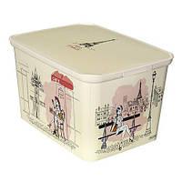 Ящик для игрушек Miss Paris 20 литров Curver