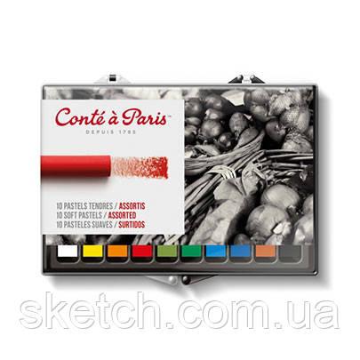 Набор мягкой пастели Conte Soft Pastel, 10шт/уп