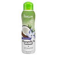 TropiClean Awapuhi and Coconut Pet Shampoo шампунь для блеска шерсти животных, 355мл
