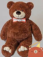 Мягкий плюшевый Медведь Бурый 85 см