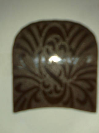 Набойка полиуретановая № 0 5В  (Латвия) черн., фото 2