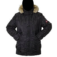 "Куртка зимняя ""Norway"" Black, фото 1"