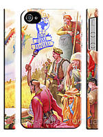 Чехол Вільна Україна козаки для iPhone 4/4s
