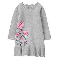 Детское вязаное платье  12-18 месяцев, фото 1
