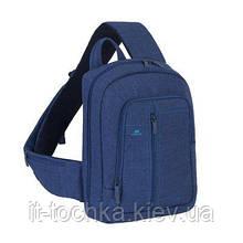 Рюкзак для ноутбука rivacase 7529 blue диагональ 13.3