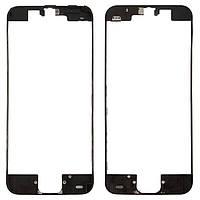 Рамка дисплейного модуля iPhone 5c черная