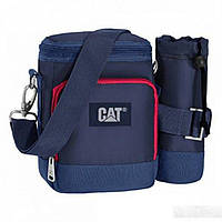 Сумка через плечо синего цвета CAT арт. 83195;170
