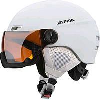 Шлем горнолыжный Alpina MENGA JV white matt A9061-13