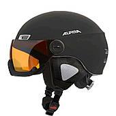 Шлем горнолыжный Alpina MENGA JV black matt A9061-31