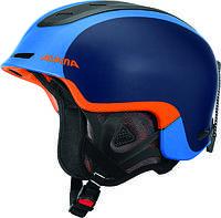 Шлем горнолыжный Alpina SPINE blue-orange matt A9088-80