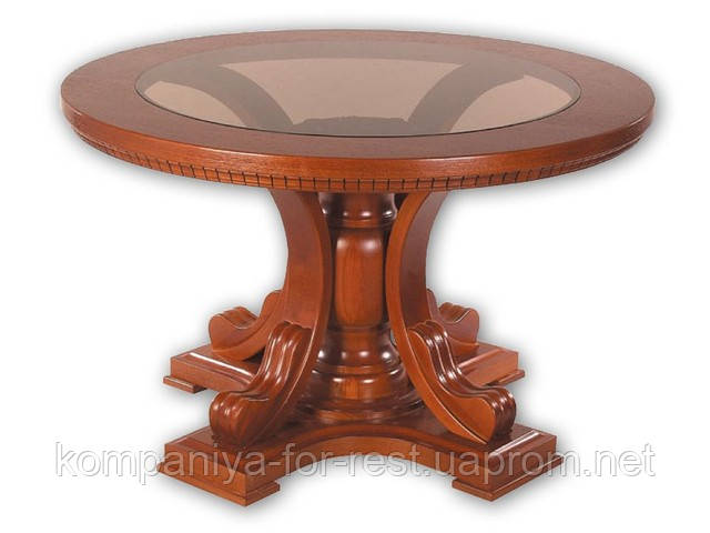 Стол из массива дерева нераскладной  коллекция  «Полесье»