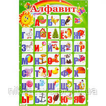 Плакат картонный Алфавит РУССКИЙ